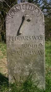 The Peddars Way is another long-distance trackway that links Norfolk with the Chilterns