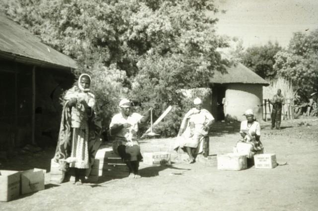 Basutho family group; Lesotho