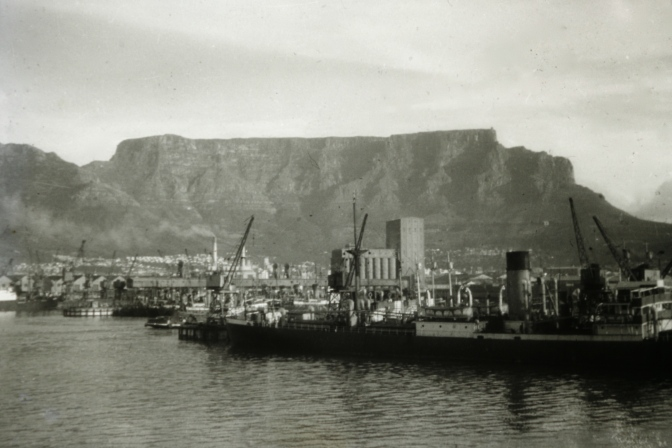 Cape Town Harbour; 1957