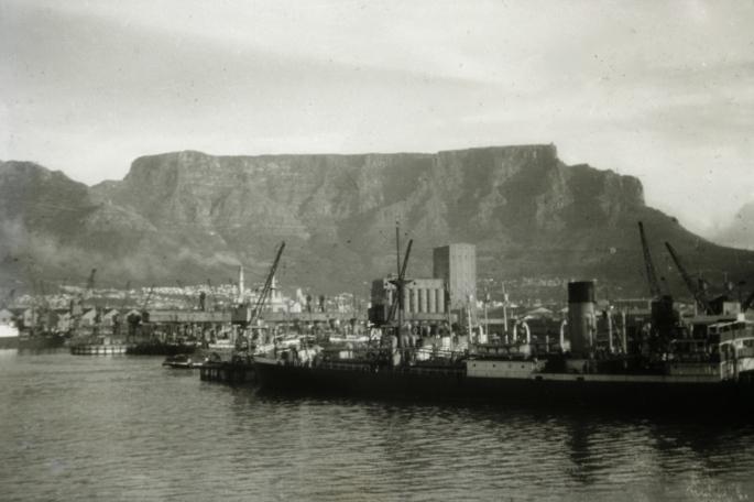 Cape Town Harbour; 1957