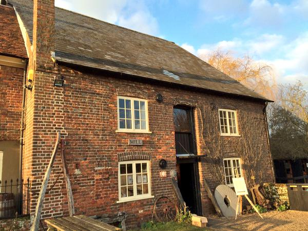Redbournbury Mill is a working mill in the Chiltern Hills