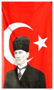 Mustafa Kemal Atatürk, became the country's first president in 1923.