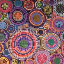 Detail from one of the Harumaki Chairs: Humberto & Fernando Campana