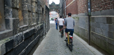 Cycling back into Tournai