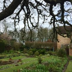 The sunken Tudor garden