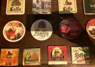 We almost missed the Leffe Museum, hidden behind a curtain and a pair of large wooden doors.