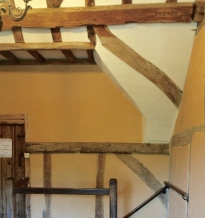 The cottages were constructed using wattle and daub