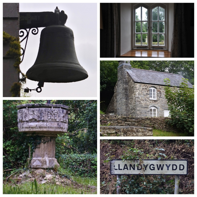 Church cottage collage