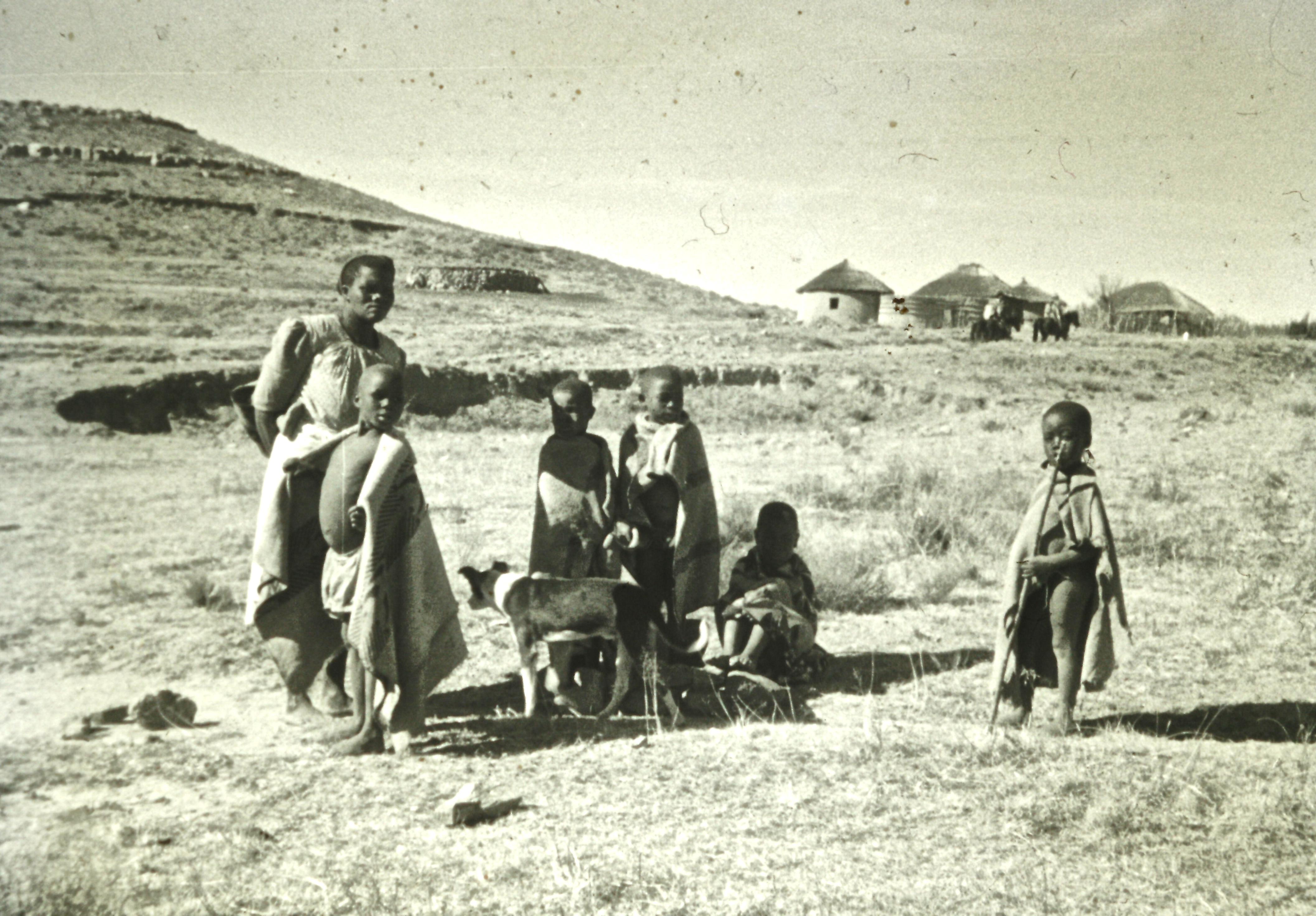 Basutho family group
